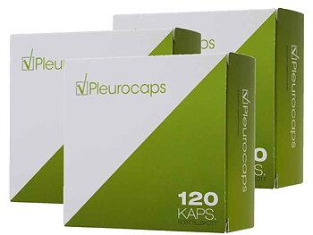 Pleurocaps kosttillskott 3-pack