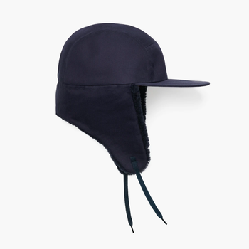 TOASTIES Sheepskin Cap Hat - Navy