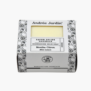 Andrée Jardin Solid Dishwashing Soap - Mint + Lemon