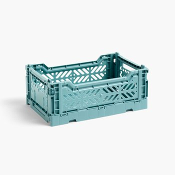 HAY Colour Crate Small Teal - NEW COLOR