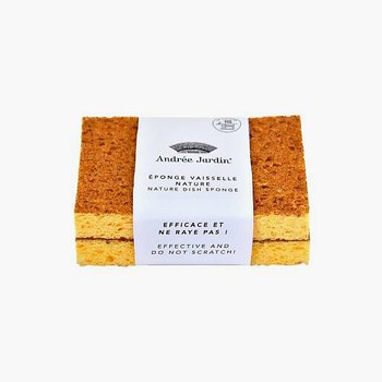 Andrée Jardin Natural Kitchen Sponge - Pack of 2
