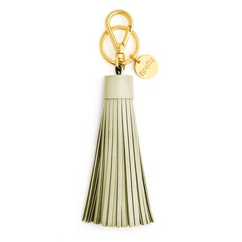 Soft Tassel Reflector - Linden Green