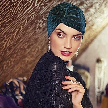 Pearl - Boho Turban Velvet