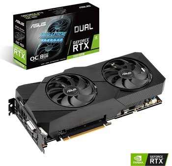 ASUS GeForce RTX 2060 Super 8GB Dual EVO OC Grafikkort