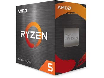 AMD Ryzen 5 5600X, Core: 6/12, 3.7-4.6GHz, 35MB, unlocked, AM4 - Wraith Spire Cooler