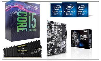 GR Core i5 9400F Uppgraderingspaket