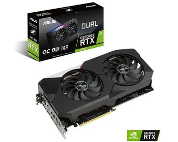 ASUS GeForce RTX 3070 8GB DUAL Evo OC grafikkort