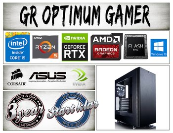 GR Optimum Gamer A77 speldator med Nvidia Geforce RTX 3070 8GB grafik AMD Ryzen 5 5600X processor