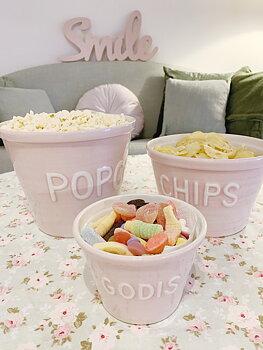 "Candy "" Godis"" pink bowl"