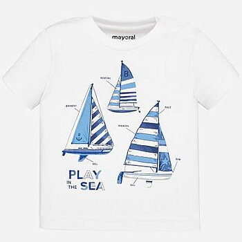 The white sailboat