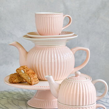 Teapot Alice pale pink