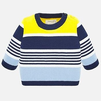 Jumper yellow stripes