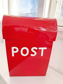 Mini  mailbox Rød