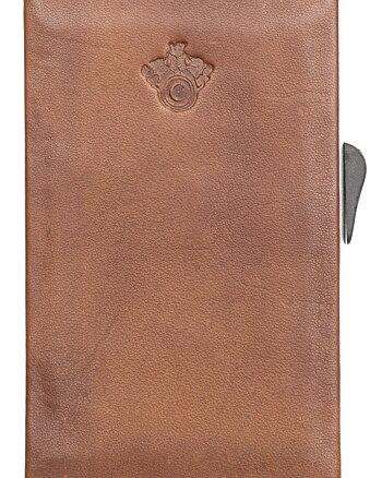 CAB Secure Korthållare 5 kort - Cognac