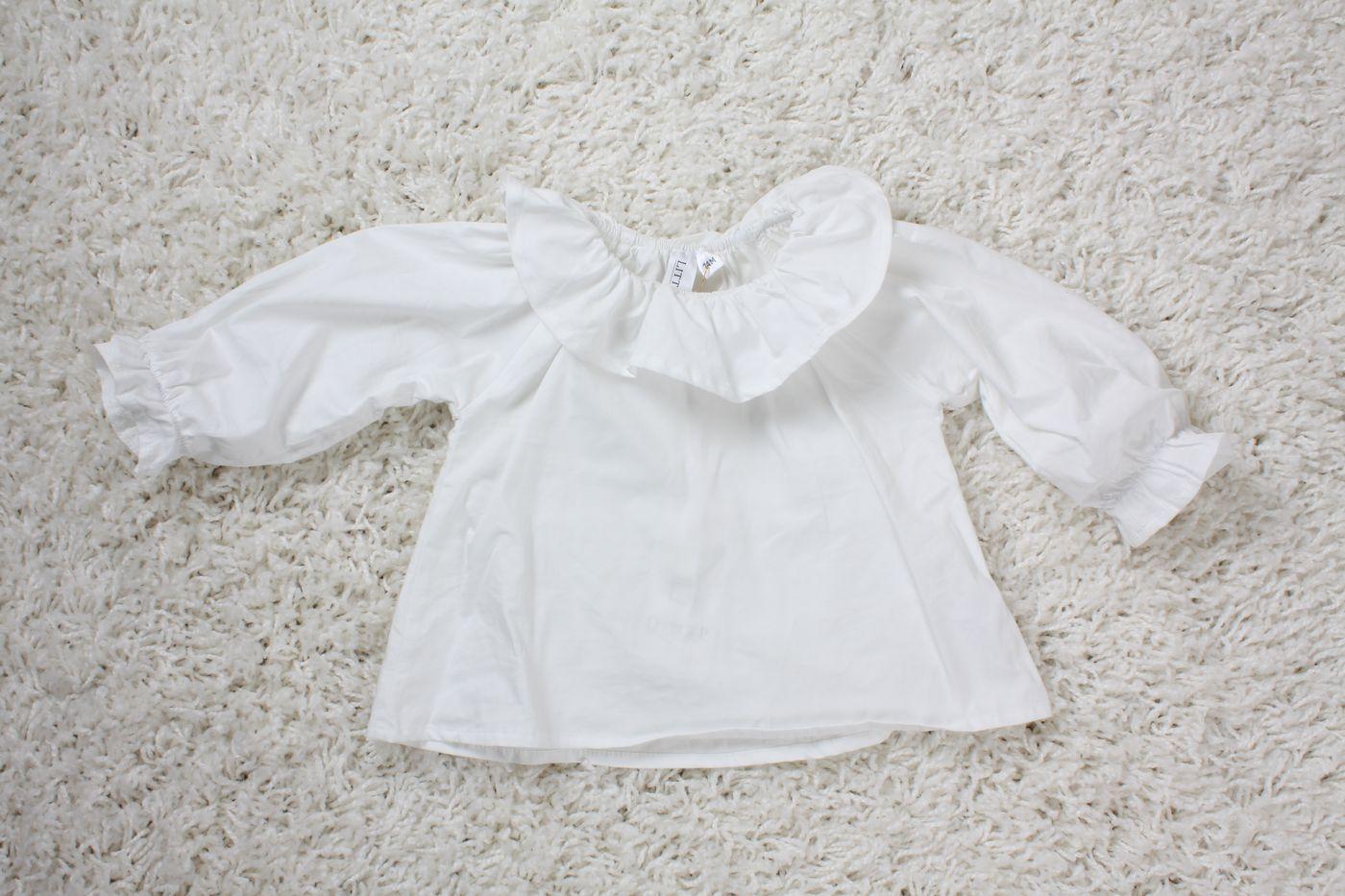 vit skjorta baby