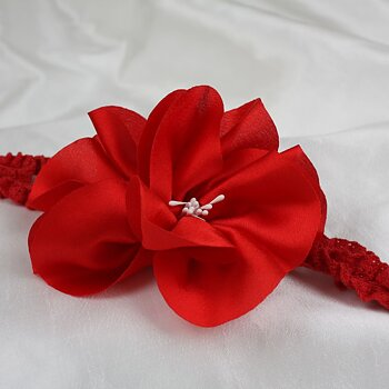 Headband red flower Baby and children