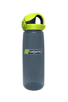 Nalgene - Vattenflaska OTF On The Fly - Charcoal Lime Cap 0,7 Liter