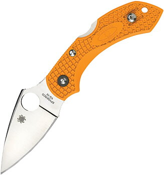 Spyderco - Dragonfly 2 Orange FRN Fällkniv
