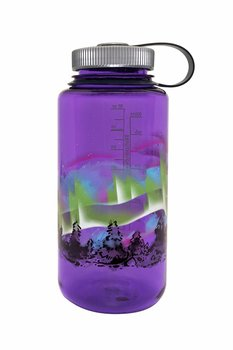 Nalgene - Vattenflaska Limited Edition Elements Earth Norrsken Wide Mouth 1 Liter