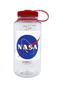 Nalgene - Vattenflaska Limited Edition NASA Blue Wide Mouth 1 Liter