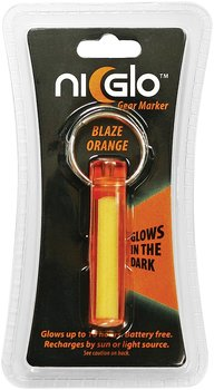 Ni-Glo - Solar Gear Marker Glow In The Dark - Blaze Orange