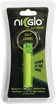 Ni-Glo - Solar Gear Marker Glow In The Dark - Sour Lemon