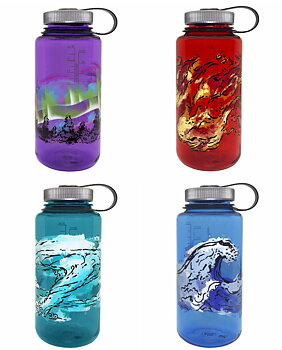 Nalgene - Vattenflaskor Limited Edition 4 Elements Wide Mouth 1 Liter