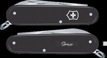 Victorinox - Alox Cadet 84 Mm Slims.se Svart