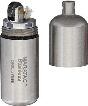 Maratac - Bensintändare - Stainless Peanut Lighter