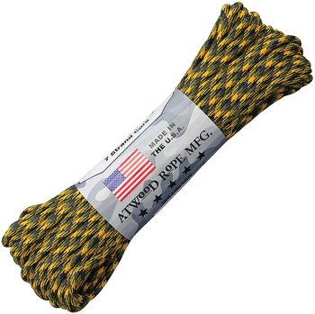 Atwood Rope MFGl 550 Paracord Bulldozer Multicolor