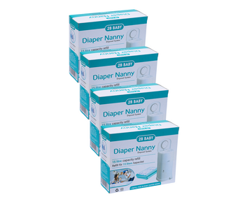 2B Baby Diaper Nanny Refill 4-P