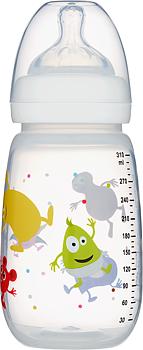 2B Baby Babblarna Nappflaska 310 ml - Vit