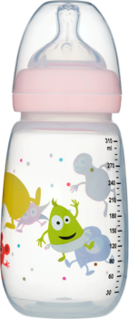 2B Baby Babblarna Nappflaska 310 ml - Rosa