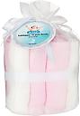 2B Baby Tvättlappar Bambu OEKO-TEX 10-pack Rosa