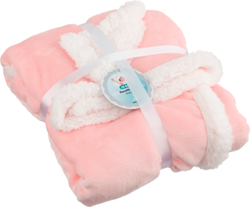 2B Baby Fleecefilt Rosa