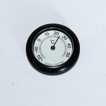 1-07812 MC-termometer, mod.Slim, svart-vit