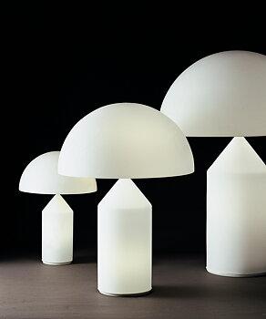 ATOLLO OPAL TABLE LAMP OPAL - Oluce
