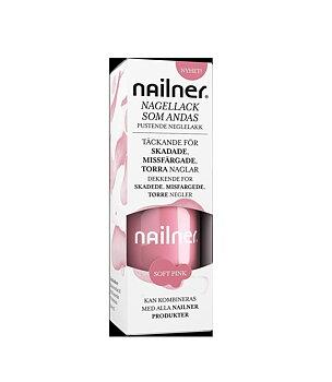 Nailner - Nagellack som andas, Soft Pink, 8 ml