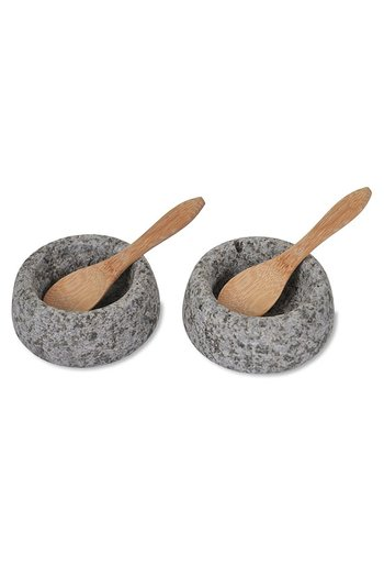 Garden Trading Granite Salt and Pepper Pots