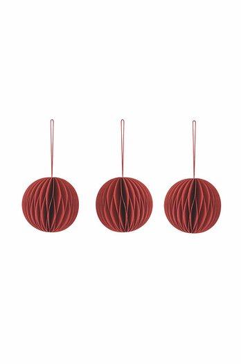 Garden Trading Set of 3 Maddox Round Baubles