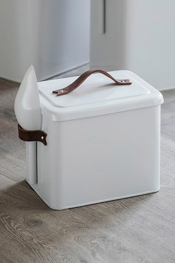 Garden Trading Stowell Pet Bin Small Chalk