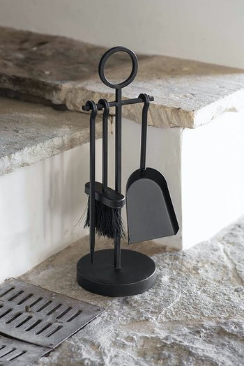 Garden Trading Paxford Fireside Tool Set Black