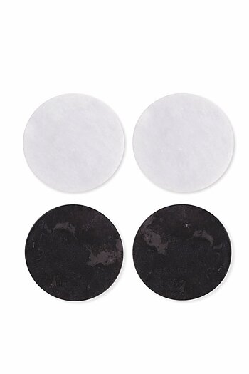 Garden Trading Set of 4 Marble Coasters