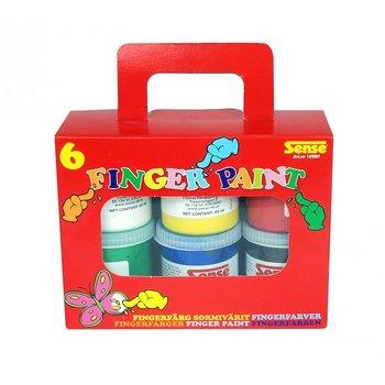 Fingerfärg 80 ml x 6