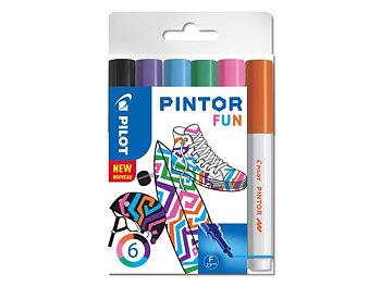 Märkpenna PILOT Pintor Fun 1,0 mm  6/fp