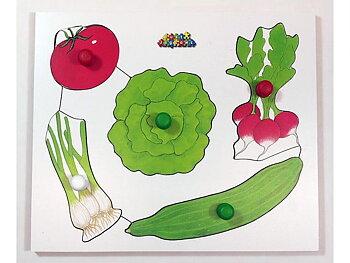 Knopppussel Grönsaker