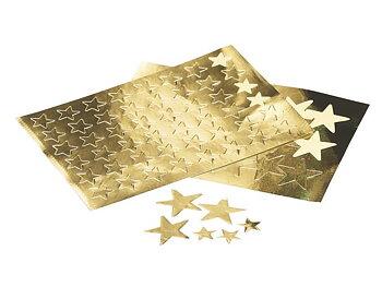 Stickers stjärnor guld 25mm 108/fp