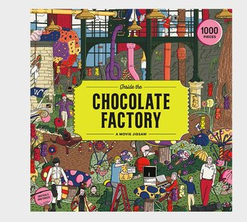 Pussel 1000 bitar Willy Wonka : Inside the chocolate factory