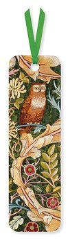 William Morris : The Owl :  Bokmärke