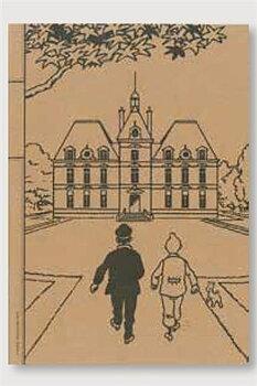 Tintin :  Moulinsart - Skrivhäfte linjerat A5+